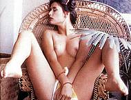 Demi Moore early nude posing magazines scans