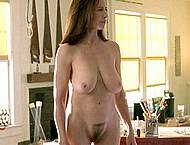 Mimi Rogers showing huge boobs and pussy caps